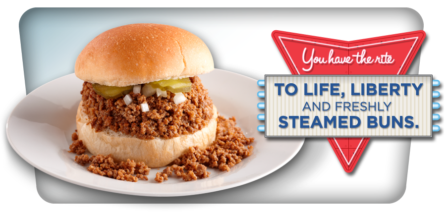 You have the rite to life, liberty, and freshly steamed buns.
