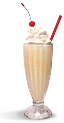 Maid-Rite shakes are a hit